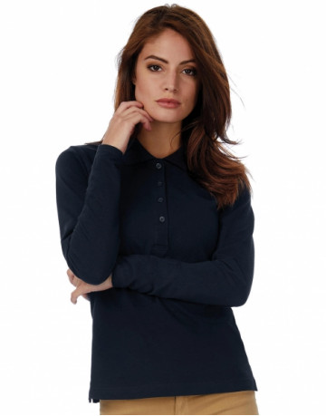 Safran Pure LSL/women Polo